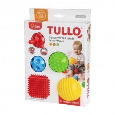 Набор сенсорных мячиков TULLO-458, 5 шт