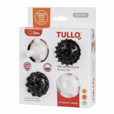 Kamuoliukai sensoriniam vystymui TULLO-461, 4 vnt 2