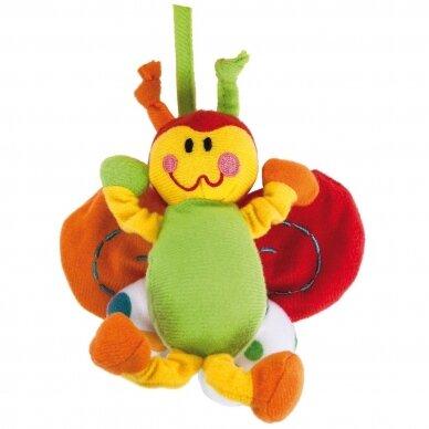 Karuselė muzikinė su minkštais žaisliukais Canpol 2/984 4