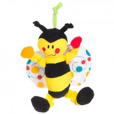 Karuselė muzikinė su minkštais žaisliukais Canpol 2/984 5