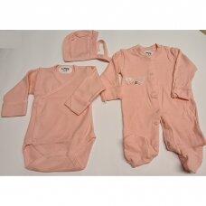 Komplektukas 3 dalių 62 cm-Pink