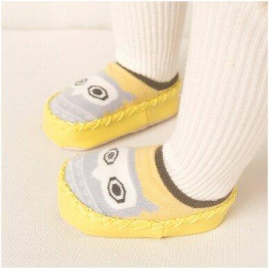 Kojinės-batukai neslystančiu padu-4 3