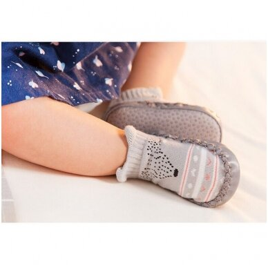 Kojinės-batukai neslystančiu padu-9 3