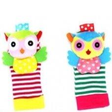 Lavinamosios kojinytės su žaisliukais 21-036