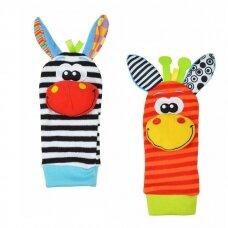 Lavinamosios kojinytės su žaisliukais 21-039