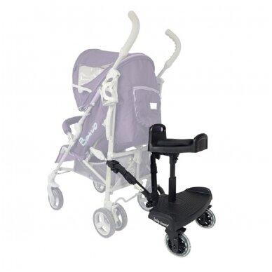 Laiptelis vežimėliui antram vaikui Baby Broard