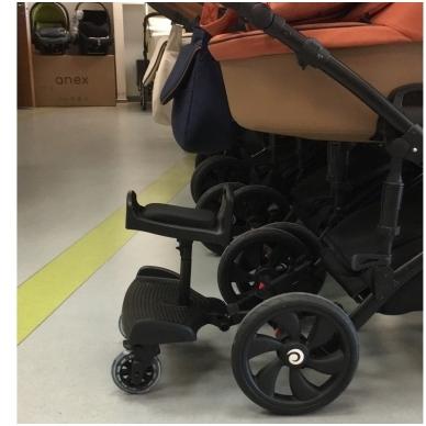Laiptelis vežimėliui antram vaikui Baby Broard 4