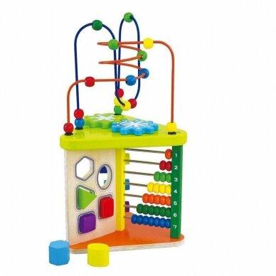Lavinantis žaislas SmilyPlay Active Triangle Wooden 7622 3