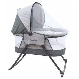 Кроватка-колыбель BabyMix 113B Grey