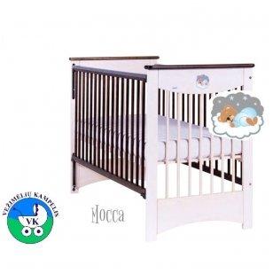 Кроватка Drewex MOCCA с опускаемой боковиной