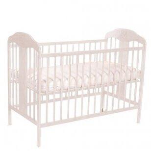 Кроватка TOMI 10 с опускаемой боковинкой