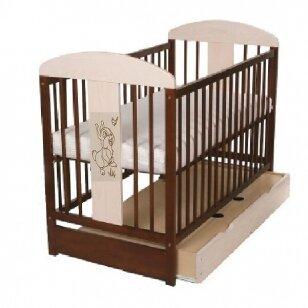 Кроватка TOMI 18 с ящиком