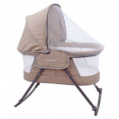 Кроватка-колыбель BabyMix 113B Beige