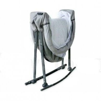 Кроватка-колыбель BabyMix 113B Beige 2