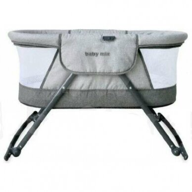 Кроватка-колыбель BabyMix 113B Beige 3