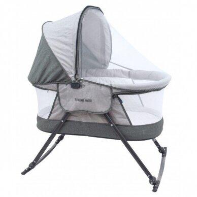 Lopšiukas BabyMix 113B Grey
