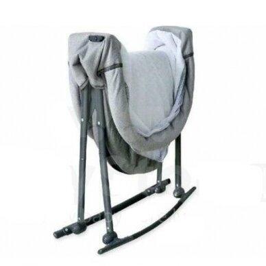 Кроватка-колыбель BabyMix 113B Grey 3