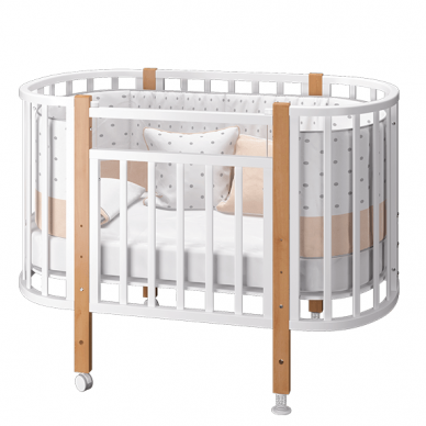 Кроватка ELEN с маятниковым механизмом 3