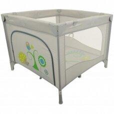 Maniežas BabyMix HR-SQ106-2 Grey