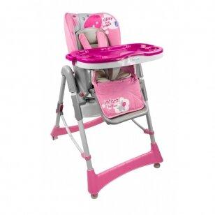 Стульчик для кормления Beticco INFANTI Pink