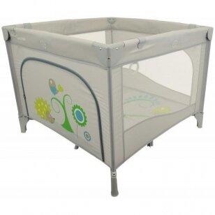 Манеж  BabyMix HR-SQ106-2 Grey