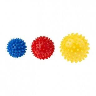 Массажный мячики TULLO 406, 3 шт.