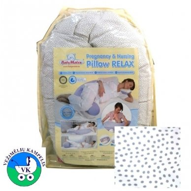 Maitinimo pagalvė BabyMatex RELAX 3