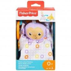 Minkštas pakabinamas žaislas Fisher Price Peek A Boo Monkey GFC29