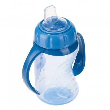 Mokomasis puodelis su silikoniniu snapeliu Canpol CUTE ANIMALS 56/512 Blue 2