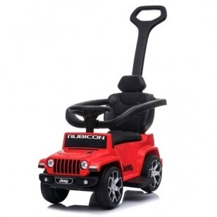 Машинка-толкалка JEEP Red