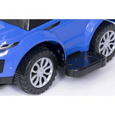 Машинка-толкалка 614W Blue 6