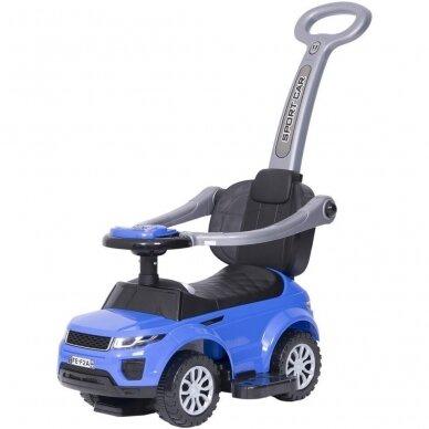 Машинка-толкалка 614W Blue