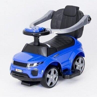 Машинка-толкалка 614W Blue 3