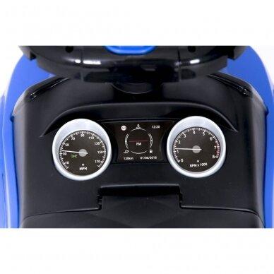 Машинка-толкалка 614W Blue 8