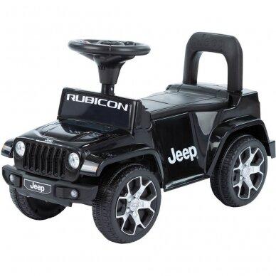 Машинка-толкалка JEEP Black