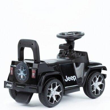 Paspiriama mašina-stumdukas JEEP Black 4