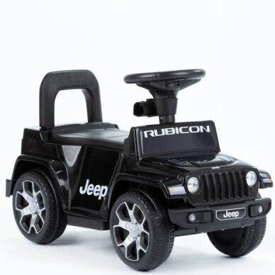 Машинка-толкалка JEEP Black 2