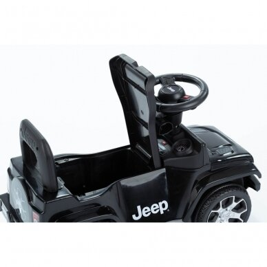 Машинка-толкалка JEEP Black 5