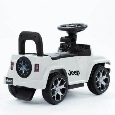 Машинка-толкалка JEEP White 4