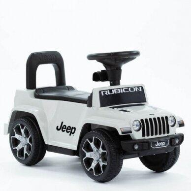 Машинка-толкалка JEEP White 5