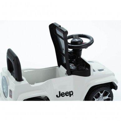 Машинка-толкалка JEEP White 6