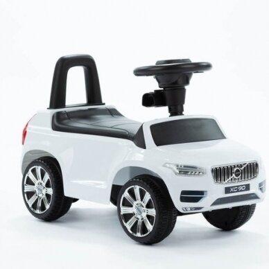 Машинка-толкалка VOLVO White