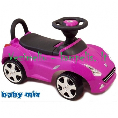 Paspiriamoji mašinėlė-stumdukas BabyMix HZ-603 5