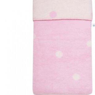 Плед хлопок Womar Zaffiro 100x150, Pink/ecru