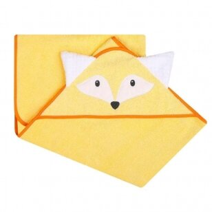 Полотенце 3D с капюшоном ANIMAL-Fox