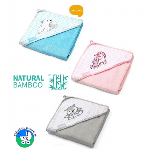 Полотенце с капюшоном BabyOno BAMBOO-76
