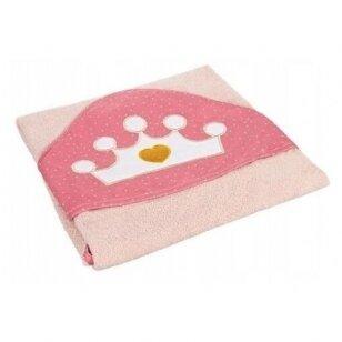 Полотенце с капюшоном Canpol QUEEN 26/800,Pink