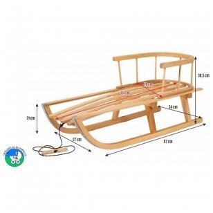 Санки деревянные 1