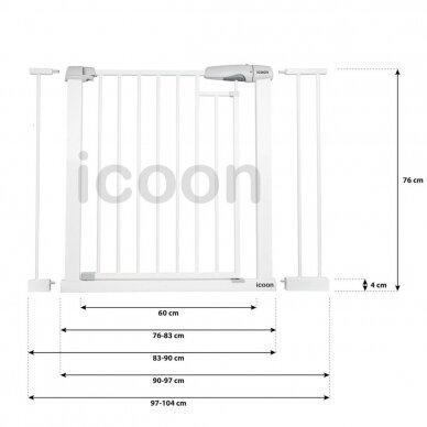 Saugos varteliai ICOON 76-104 cm 5