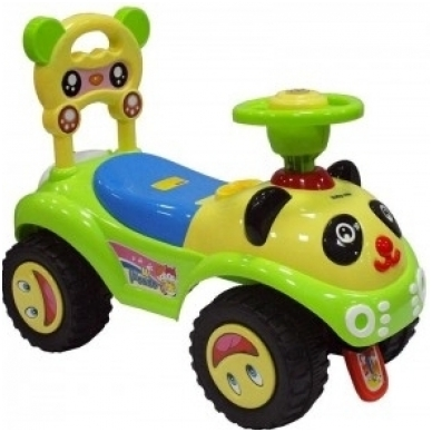 Stumdukas-paspirtukas BabyMix 7601 PANDA 3